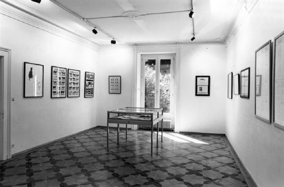Marcel Broodthaers, view of the exhibition, 1991.