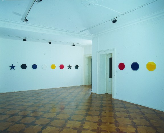 Olivier Mosset, view of the exhibition, 1994
