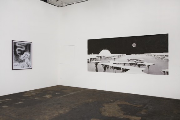 Andreas Dobler, vue de l'exposition In Deep Ink, Centre d'édition contemporaine, Genève, 2007. Photo: © Sandra Pointet