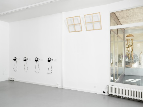 View of the exhibition Artists' Voices, CEC, 2015. Photo © Sandra Pointet