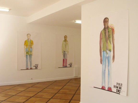 M/M (Paris), view of the exhibition<em>Pour hoM/Me, printemps-été 2004</em>, Centre d'édition contemporaine, Genève, 2004
