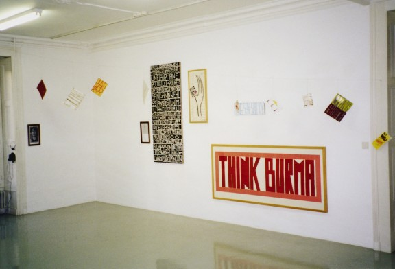 View of the exhibition <em>Bourse du CGGC 1997-1999</em>, Centre d'édition contemporaine, Genève, 2000
