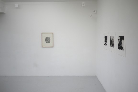 View of the exhibition <em>Abstractions sentimentales</em> et quelques éditions, Centre d'édition contemporaine, Genève, 2011