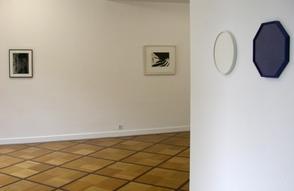 "View of the exhibition <em>""Encadrées""</em>, Centre d'édition contemporaine, 2010"