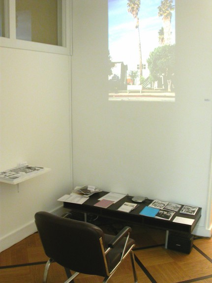 View of the exhibition <em>Paper field - exhibition Field</em>, Centre d'édition contemporaine, Genève, 2003