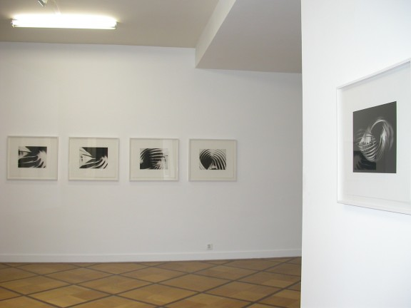 Florian Pumhösl, view of the exhibition <em>Héliogravures et film</em>, Centre d'édition contemporaine, Genève, 2004