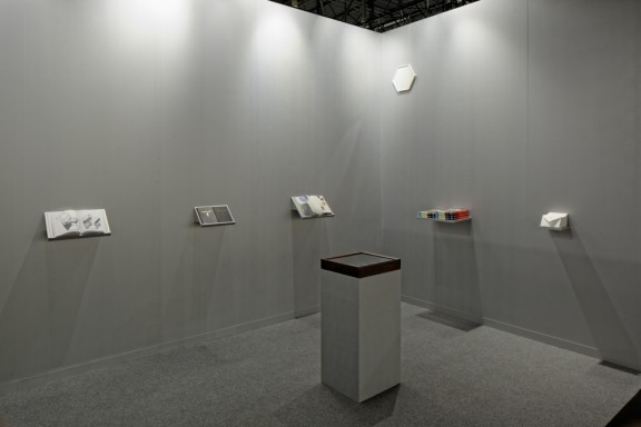 Vue du stand du CEC, 2015. Photo © Sandra Pointet