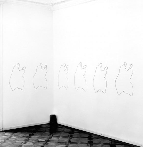 Kristin Oppenheim, view of the exhibition, 1996