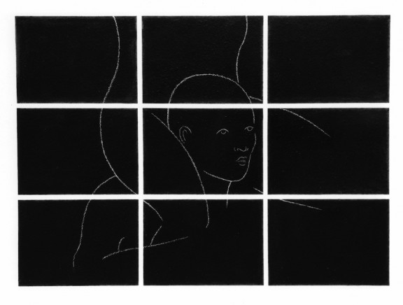Stephane Landry, view of the exhibition, 1992
