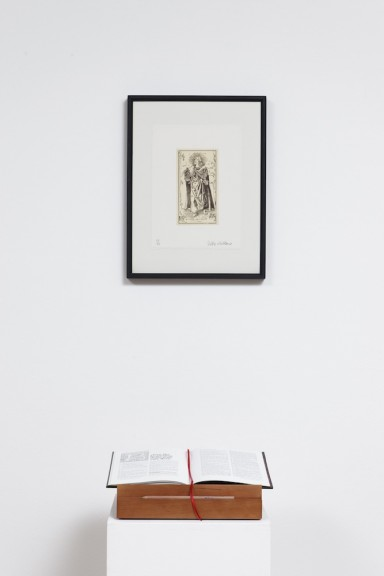 Jeffrey Vallance, view of the exhibition The Vallance Bible, Centre d'édition contemporaine, Genève, 2012. Photo: © Sandra Pointet