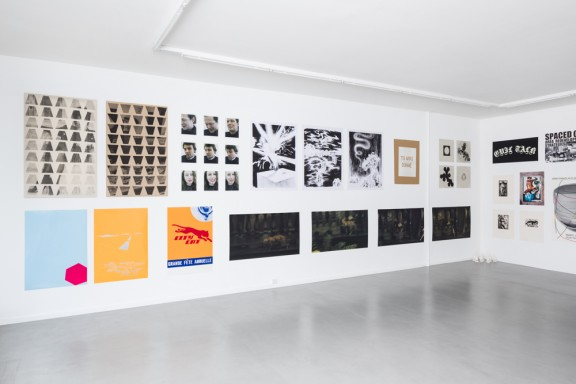 View of the exhibition ALPHABET EDITIONS, CEC, 2014. Photo © Sandra Pointet