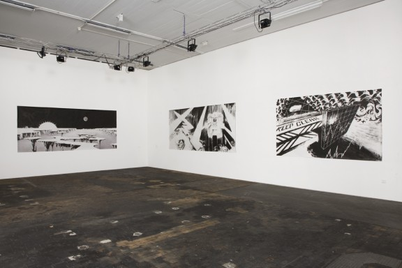 Andreas Dobler, view of the exhibition In Deep Ink, Centre d'édition contemporaine, Genève, 2007. Photo: © Sandra Pointet