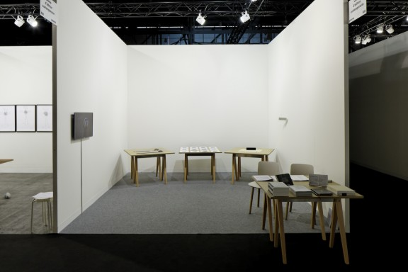 View of the CEC's stand, artgenève, 2013. Photo: © Sandra Pointet