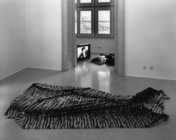 Karen Kilimnik, view of the exhibition, 1995