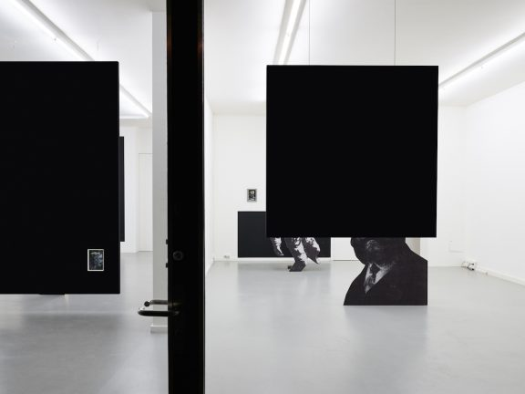 Jakob Kolding, view of the exhibition The Outside or the Inside of the Internalised Externalised, CEC, 2017. © Sandra Pointet