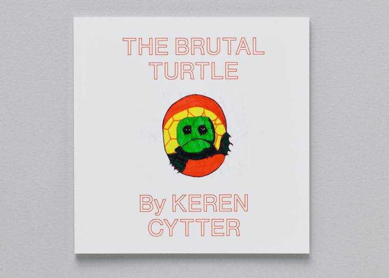 Keren Cytter, The Brutal Turtle, coedition Pork Salad Press and CEC, 2018. © Sandra Pointet