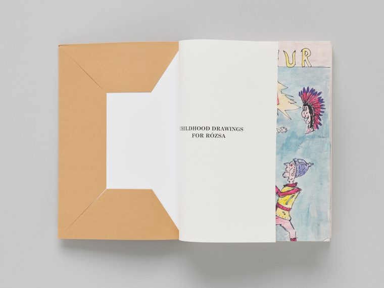 Victor Man, Childhood Drawings for Rózsa, artist's book, éd. CEC, 2018, © Sandra Pointet
